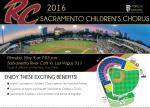 Image of SCC to sing at River Cats Game